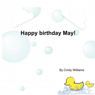 Happy Birthday May!