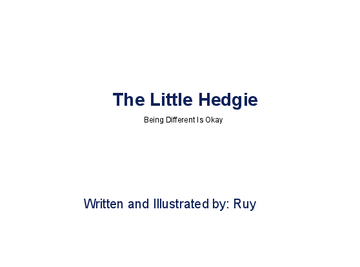 The Little Hedgie:
