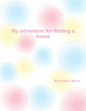 My adventure for finding a home