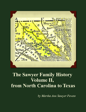 The Sawyer Family History Volume II
