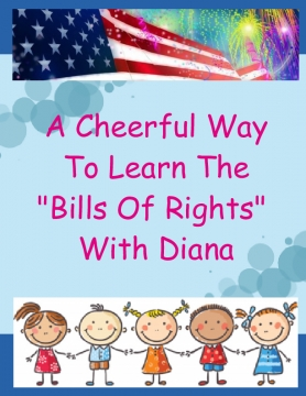 a cheerful way to learn the bills of rights