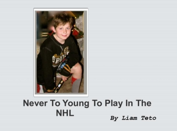 Never Too Young for the NHL