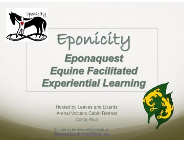 Eponicity Equine Facilitated Learning