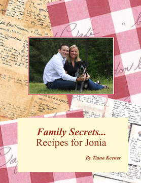 Family Secrets...Recipes for Jonia