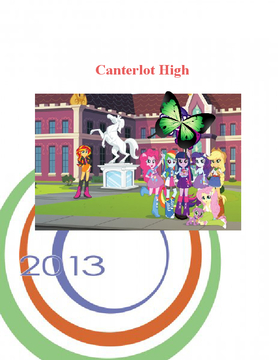 Canterlot High yearbook