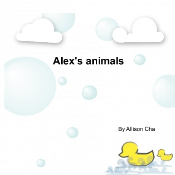Alex's animals