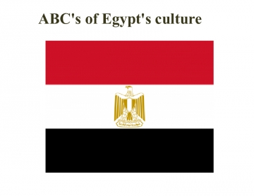 ABC's of Egypt's culture