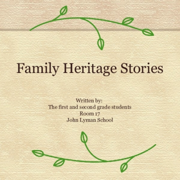 Family Heritage Stories