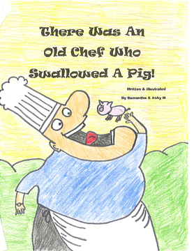 There Was An Old Chef Who Swallowed A Pig