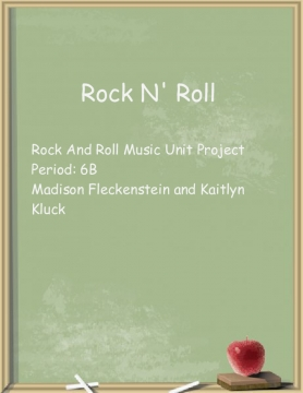 Music Project Rock N' Roll