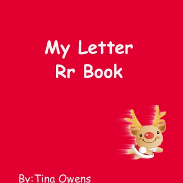 My Letter Rr Book