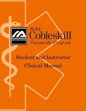 Student and Instructor Clinical Manual