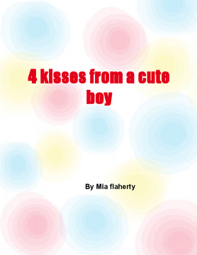 3 kisses from a cute boy