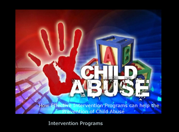 How Effective Intervention can Help Reduce Child Abuse.