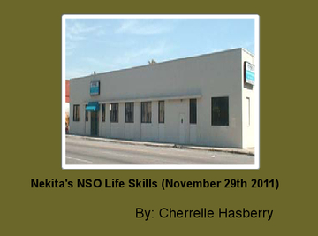 Nekita's NSO Life Skills (November 29th 2011)