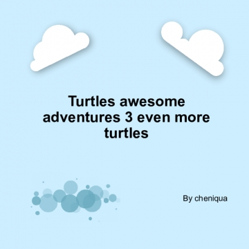Turtles awesome adventures 3