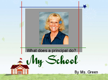 What does a principal do?