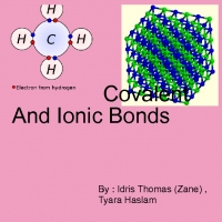 comparing and contrasting covalent and ionic bonds