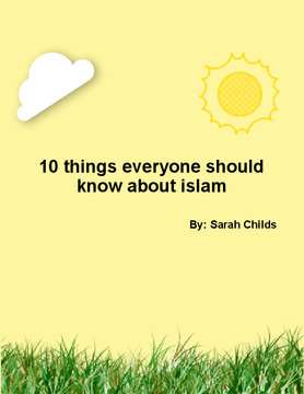 10 things everyone should know about islam