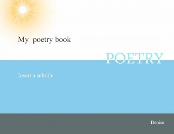 My poetry book