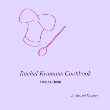 Rachel Krumans cookbook