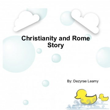 Christianity and Rome Story