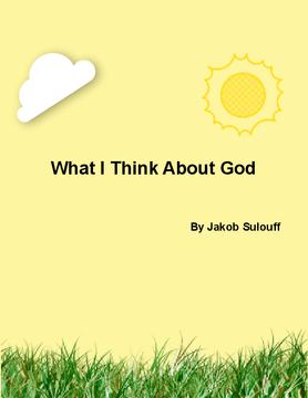 What I Think About God