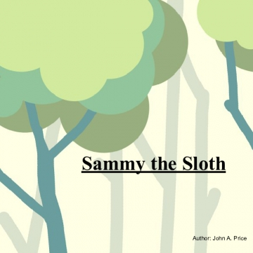 Sammy the Sloth