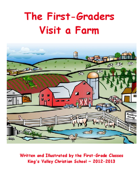 The First-Graders Visit a Farm