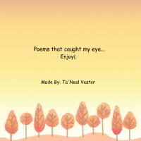 Poems that caught my eye.....