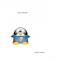 super penguin