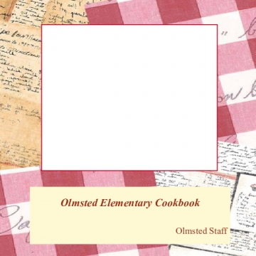Olmsted Elementary Cookbook