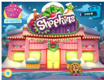 The shopkins Christmas party