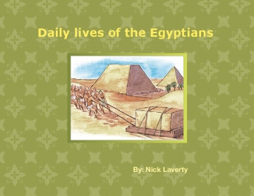 Daily lives of the Egyptians
