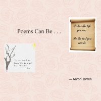 Poems can be...