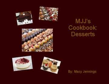 MJJ's Cookbook