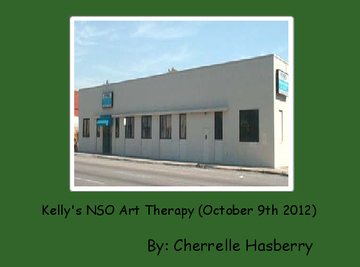 Kelly's NSO Art Therapy (October 9th 2012)