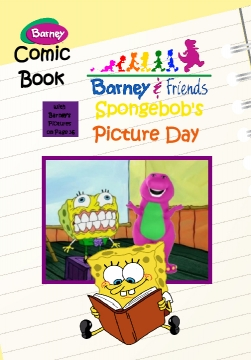 Barney & Friends Spongebob's Picture Day