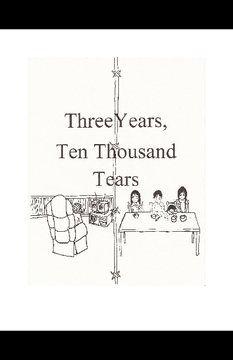 Three Years, Ten Thousand Tears