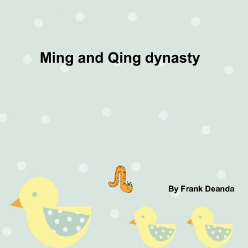 Ming and Qing happy days