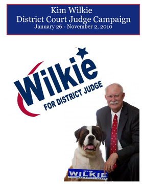 Kim Wilkie District Judge Campaign