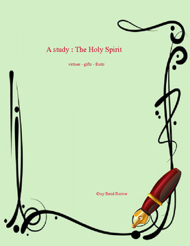 Study on the Holy Spirit