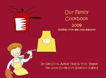 Our Family Cookbook 2009
