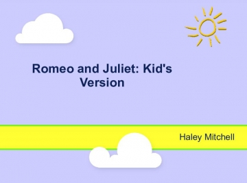 Romeo and Juliet: Kid's Version