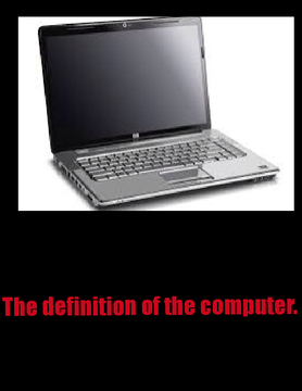 Definition of the computer