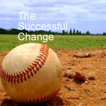 The Succeessful Change