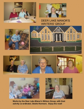 Deer Lake Manor Writers' Group   PRINTING VERSION