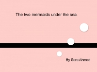 The two mermaids under the sea
