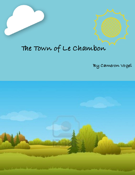 The Town Of Le Chambon