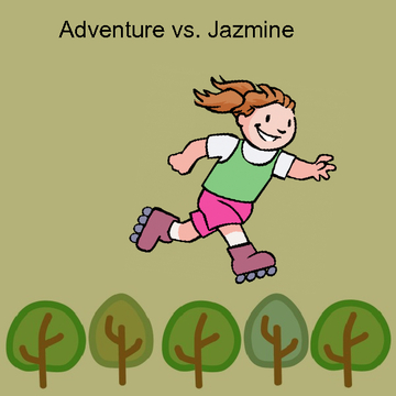 Adventure vs. Jazmine